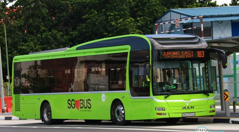 Tower Transit MAN NL323F A22 (SMB3055H) – Service 183