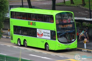 Go-Ahead Volvo B9TL Wright (SBS3301M) - Service 83