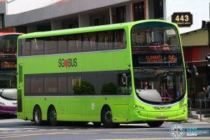 Tower Transit Volvo B9TL Wright (SG5006P) – Service 96