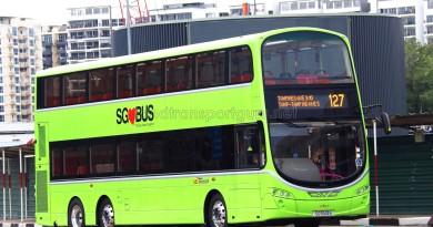 SBST Volvo B9TL Wright (SG5143B) - Service 127