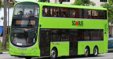 SBST Volvo B9TL Wright (SG5410E) - Service 129