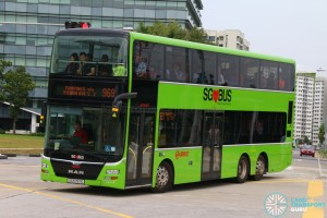 SMRT MAN A95 (SG5757E) - Service 969