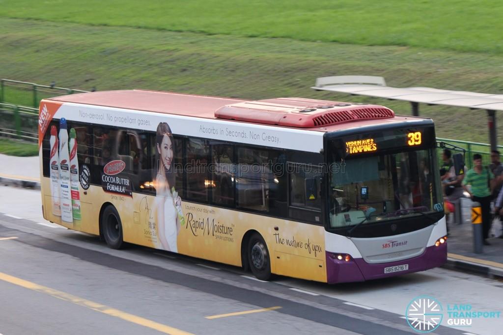 SBS Transit Scania K230UB (SBS8216T) - Service 39