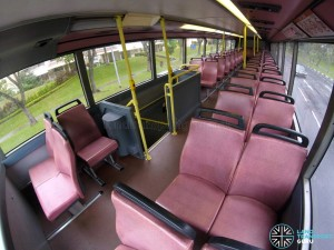 SBS Transit Dennis Trident III - Upper Deck Interior (SBS9671E)
