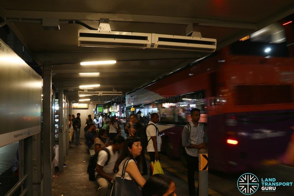 Bus Stop Fans at Tekka Centre