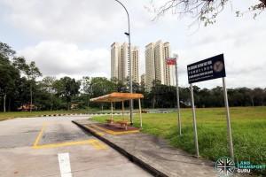 Ghim Moh Bus Terminal - Alighting stop