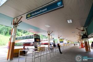 HarbourFront Bus Interchange - West entrance