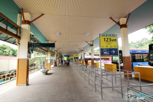 HarbourFront Bus Interchange - Interchange Concourse