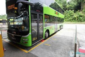 HarbourFront Bus Interchange - Wide islands for wheelchair boarding