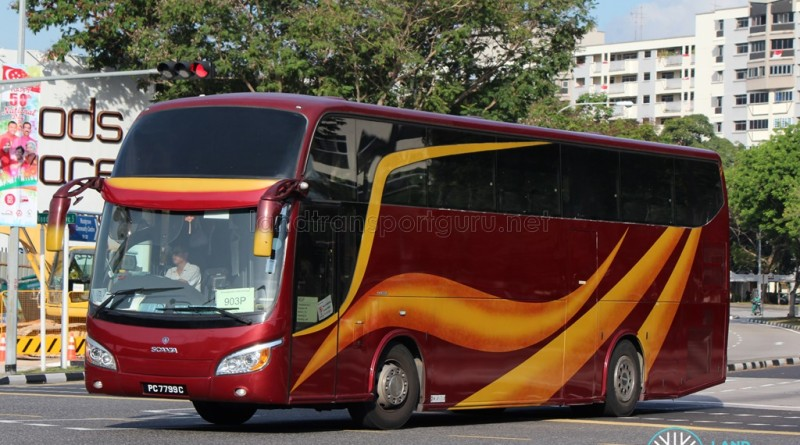 Rui Feng Chartered Scania KIB (PC7799C) - PPSS 903P