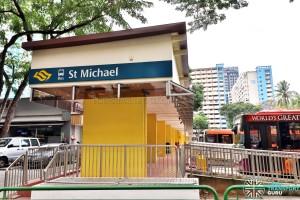 St. Michael's Ter - Whampoa Road Pedestrian Entrance