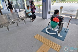 Tampines Concourse Bus Interchange - Wheelchair Boarding Area