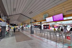 Tampines Bus Interchange Interior (Dec 2016)