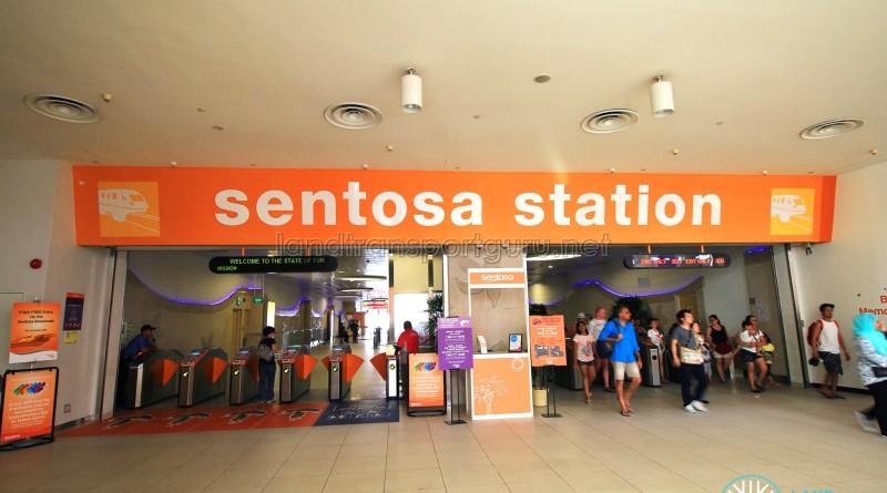 Sentosa Station - Entrance