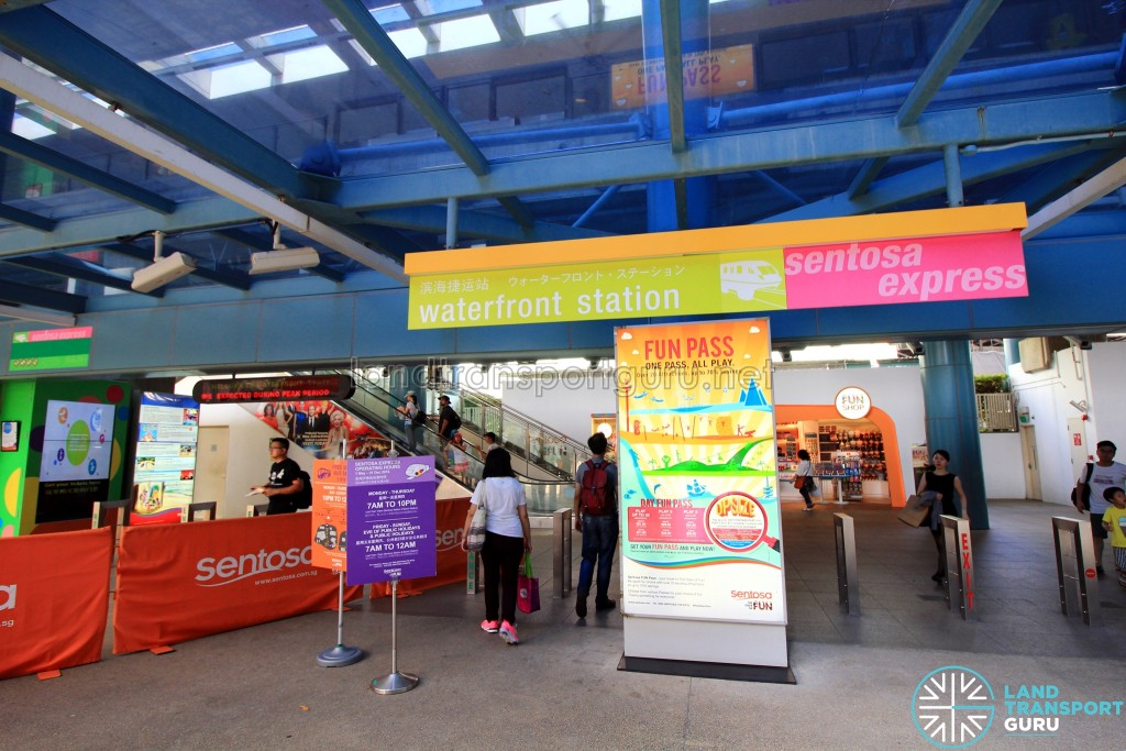 Resorts World Station (Formerly Waterfront Station) - Entrance