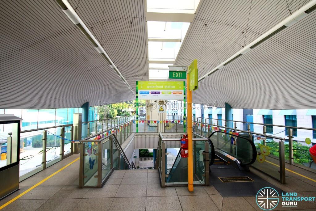 Resorts World Station - Platform (Jul 2016)