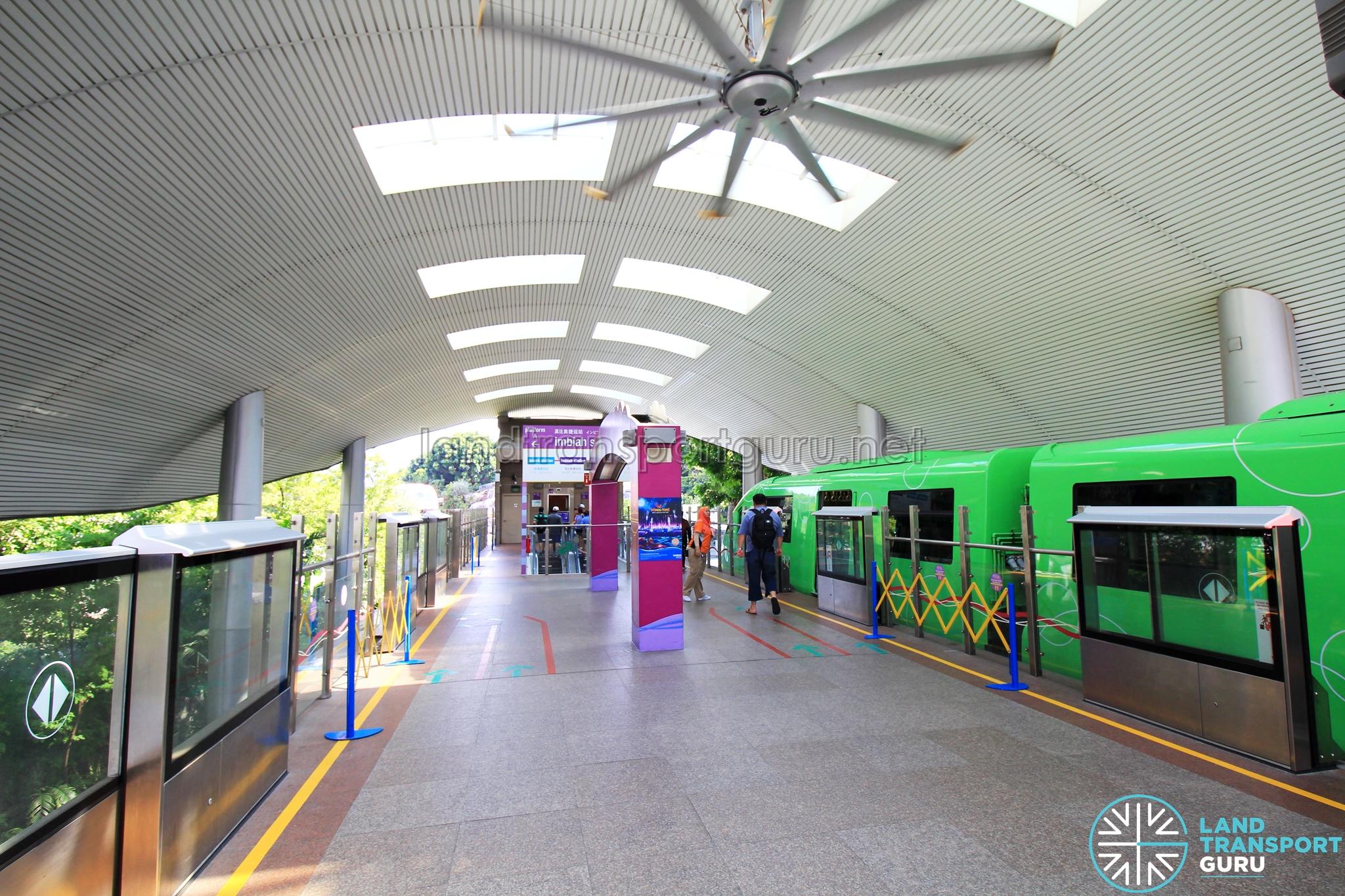 Sentosa Express station platform