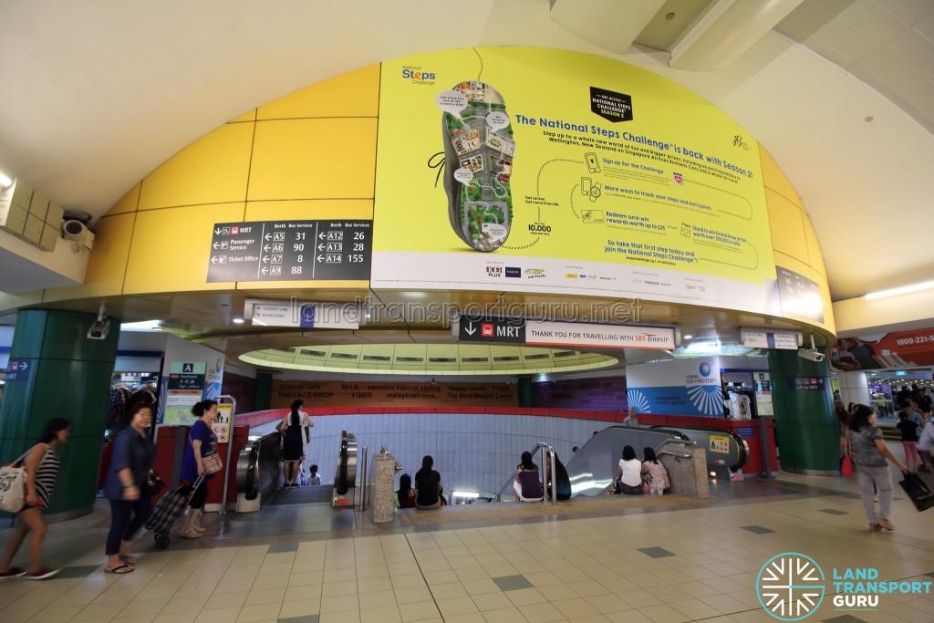 Toa Payoh Interchange - Entrance to MRT (Exit A)
