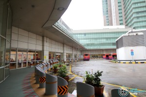 Toa Payoh Interchange - Bus movement area