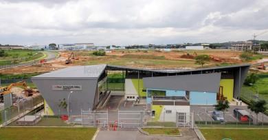 Overhead view of Tai Seng Facility Building