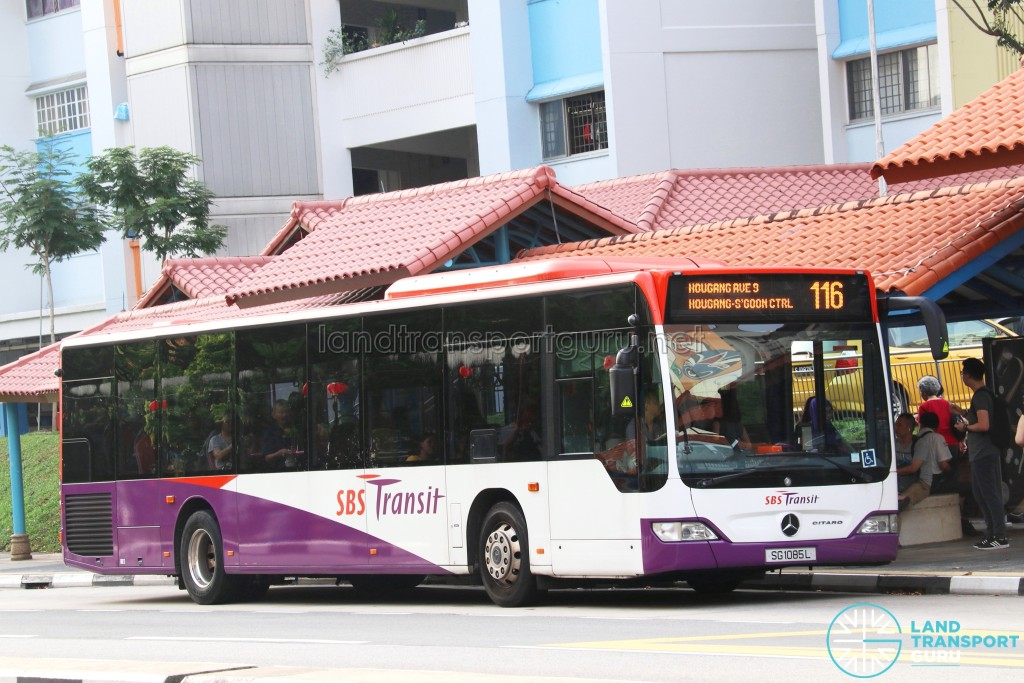 Service 116 is one of 30 bus services under the Sengkang – Hougang Bus Package