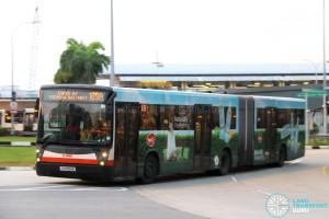SMRT Mercedes-Benz O405G Habit (TIB1094E) - Service 169A