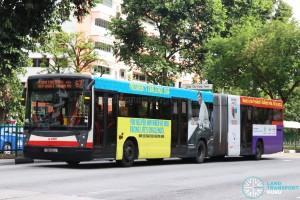 SMRT Mercedes-Benz O405G (TIB1115D) - Service 67