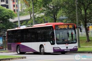 SMRT Mercedes-Benz Citaro (SG1188Z) - Service 882