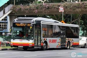 SMRT MAN A22 (SMB1606G) - Service 960