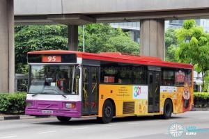 SBS Transit Volvo B10M MkIV DM3500 (SBS2806E) - Service 95