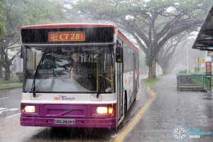SBST Volvo B10M Mark IV DM3500 (SBS2828S) – Chinatown Direct CT28