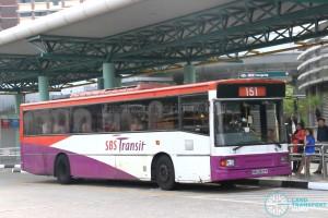 SBS Transit Volvo B10M MkIV DM3500 (SBS2829P) - Service 151