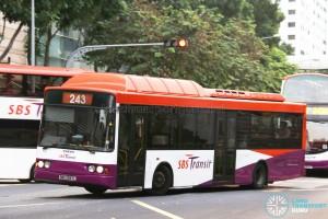 SBS Transit Volvo B10BLE CNG (SBS2997L) - Service 243W