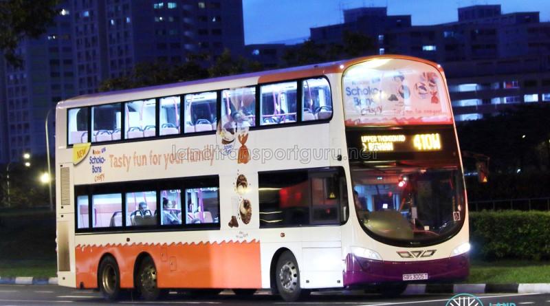 SBS Transit Volvo B9TL Wright (SBS3005T) - Service 410W