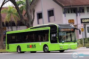 Tower Transit MAN NL323F (SMB3018R) - Service 945