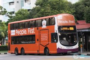 SBS Transit Volvo B9TL Wright (SBS3254R) - Service 88A