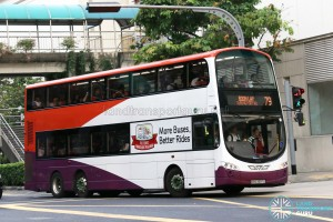 Tower Transit Volvo B9TL Wright (SBS3397L) - Service 79