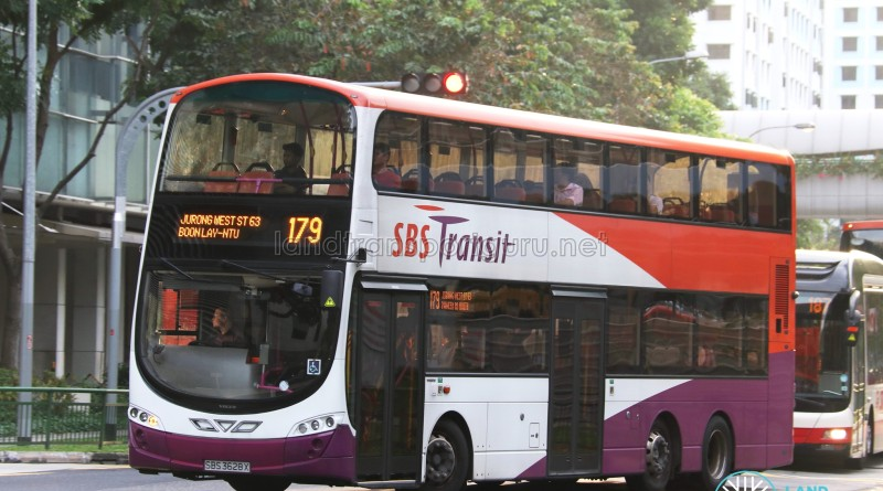 SBS Transit Volvo B9TL Wright (SBS3628X) - Service 179