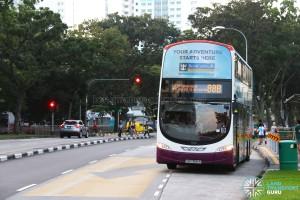 SBS Transit Volvo B9TL Wright (SBS3681R) - Service 88B