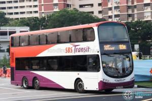 SBS Transit Volvo B9TL Wright (SBS3751Y) - Service 89e