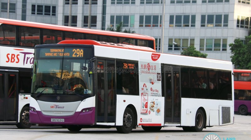 SBS Transit Scania K230UB (SBS5031D) - Service 29A