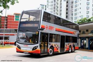 SMRT Alexander Dennis Enviro500 (SMB5040L) - Service 983