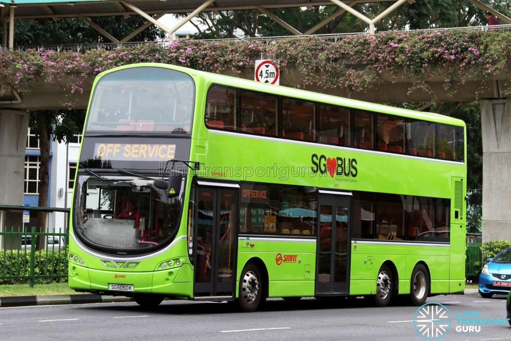 SMRT Volvo B9TL Wright (SG5050K) - Off Service