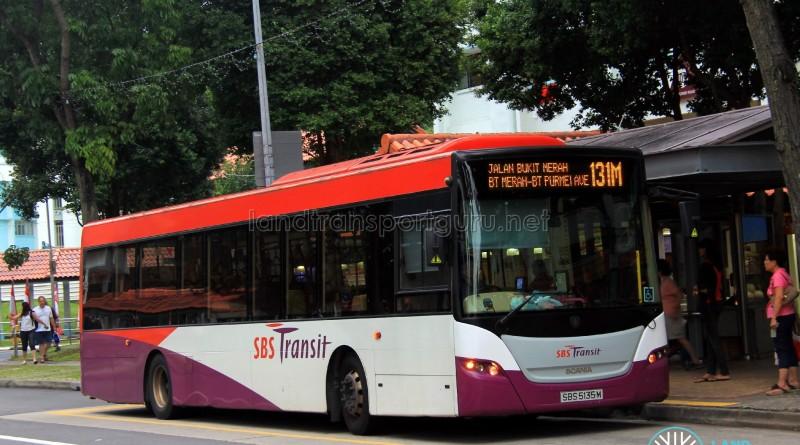 SBS Transit Scania K230UB (SBS5135M) - Service 131M