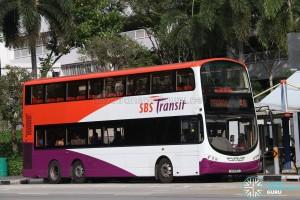 SBS Transit Volvo B9TL Wright (SG5551G) - Service 46