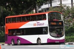 SBS Transit Volvo B9TL Wright (SG5552D) - Service 46