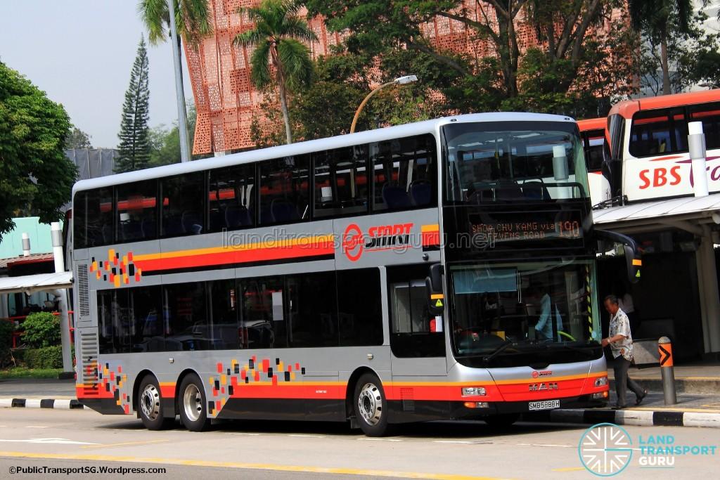 SMRT MAN A95 (SMB5888H) - Service 190