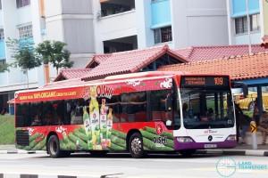 SBS Transit Mercedes-Benz Citaro (SBS6076T) - Service 109