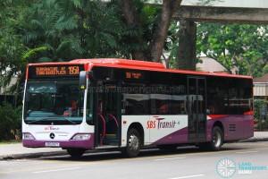 SBS Transit Mercedes-Benz Citaro (SBS6112Y) - Service 195A