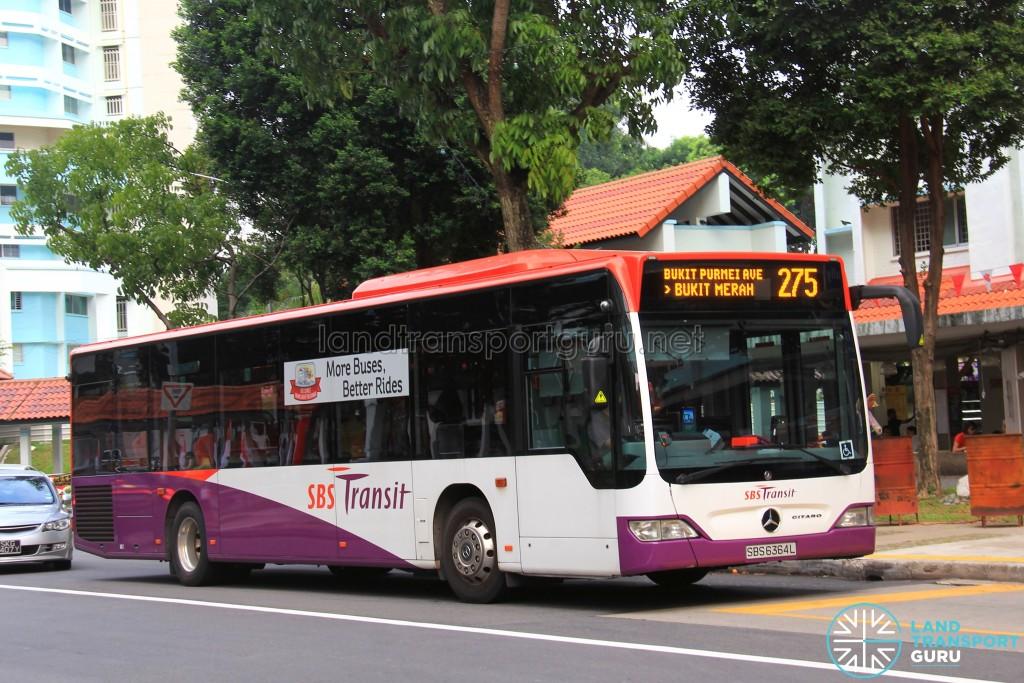 SBST Mercedes-Benz Citaro (SBS6364L) - Service 275